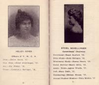 Portraits of Y.W.C.A. Officers