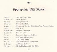 Appropriate Gift Books